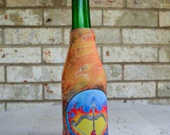 Sagittarius Drink Insulator - Bottle Insulator - Soda Bottle Cover - Bottle Hugger - Beverage Insulator - Bottle Cover - Zodiac Gifts