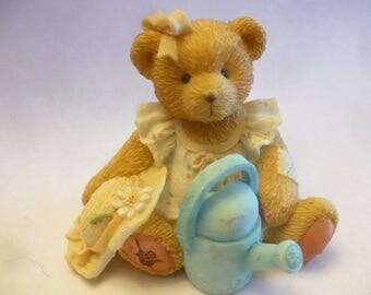 Cherished Teddies, June, June 1993, Registered, No Box, Excellent Condition, Teddy Bear Figurines, Vintage Teddy