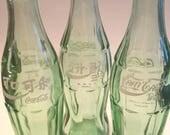 YAVA Glass - Upcycled Assortment of Coca-Cola Bottles (China, Korea, and Thailand)