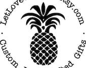 Custom Request - Pineapple stamp
