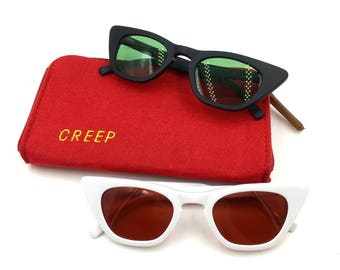Creep Cat Acetate Sunglasses