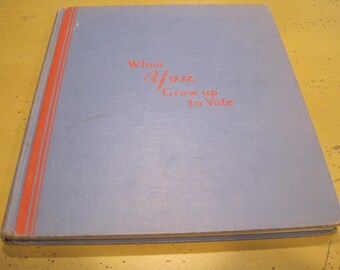 Vintage Signed Eleanor Roosevelt Book