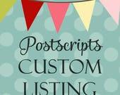 Custom for Jeanette - 6 custom coasters by Sept 1