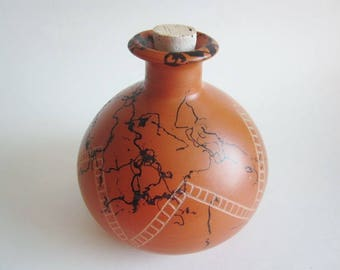 Pet Urn, Ceramic Urn,  horsehair jar, Cremation Urn, Ashes Jar, Ashes Holder