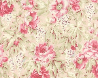 SALE Pink Floral 3 Sisters Favorites 2014 Fabric - Moda - 3 Sisters - 3768 12