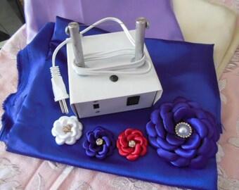 Ultimate Flower Kit, DIY singed flowers, burn, Ribbon Cutter, wedding flowers, bouquet flower maker , DIY bouquet kit