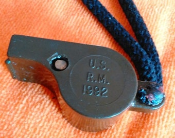 SALE US Army Military Whistle 1992