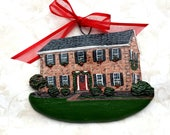 Custom listing for LydiaT-  one Custom House Ornament - a cherished keepsake of your home