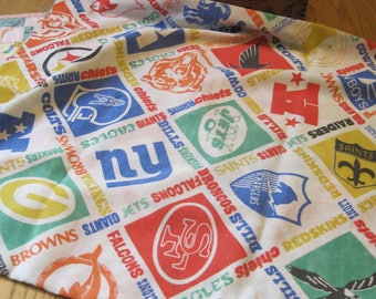 Vintage Faded NFL Standard Sized Pillow Case