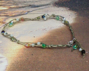 Anklet Knots & Beads