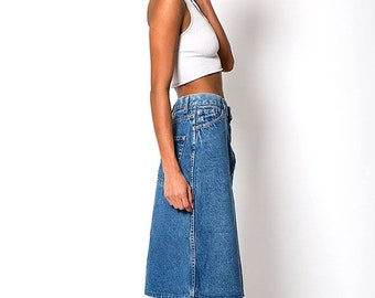 40% OFF The Vintage Levi's 1980 Olympics Denim A-Line Skirt