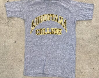 40% OFF The Vintage Heather Gray Augustana College Tee TShirt