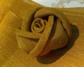 Antique Metal Wide Ribbon
