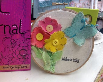 Canvas Butterfly Die Cuts