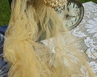 Vintage Wedding Veil from Rustysecrets