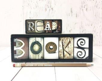 Classroom Decor, Classroom Art, Classroom Signs, Classroom Decorations, Teacher Gifts, Gifts for Teachers, Read Books Sign, Back to School