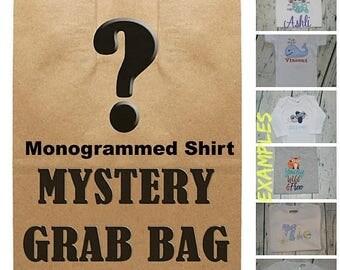 ON SALE Mystery Baby or Kids Shirt or Bodysuit Grab Bag- You Choose Gender & Size - Blind Bag - Read Description for Details