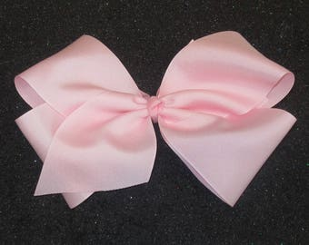 Big Bows, Jumbo Hair Bow, Extra large Bow, x-tra big hairbows, basic Bow, 8 inch classic hair bow, pageant bows, dance bow, back to school