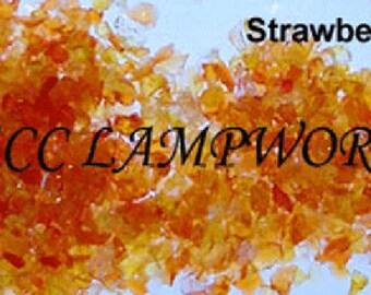 Reichenbach Strawberry R139 ~ Trsprnt ~ Striking ~ Frit Size 1 ~ 30 gms (1oz)