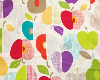 Fruit Punch by Timeless Treasures Organic Cotton Fabric - 1/2 yard