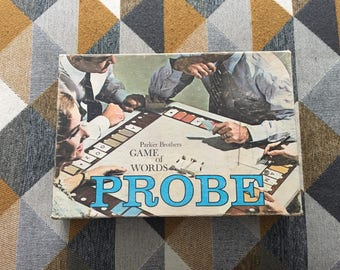Vintage 1964 Probe Board Game Parker Brothers