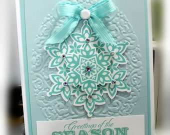 Christmas Card- Stampin' Up Greetings of the Season