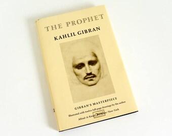 Vintage 1980s Book The Prophet by Kahlil Gibran 1981 HCDj VGC, Spirituality Divinity Faith Philosophy