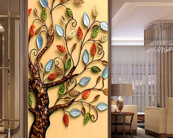 DIY 5D Diamond Painting Cross Stitch Round Diamond Embroidery Rich Tree Droplet Apple Diamond Mosaic for Home Decor