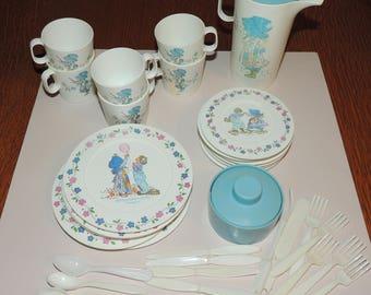 HOLLY HOBBY Child's Tea Set 36 pieces