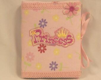 Girls Princess Padded Fabric Photo Album