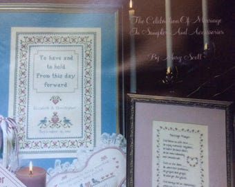 To Have and To Hold, Counted Cross Stitch Patterns by Leisure Arts, Wedding Patterns, Samplers, 1990