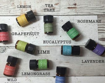 SALE Essential Oils, ESSENTIAL OIL Kit, Travel, Pick 2, For Acne, For Anxiety,  For Sleep, For Headaches, For Allergies, For Aromatherapy