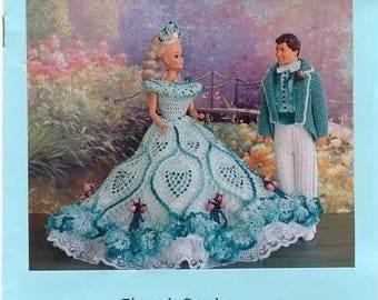 """PDF Crochet Pattern for Barbie & Ken type Dolls 11.5"""",  12"""""""