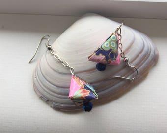 Origami Earrings -triangle
