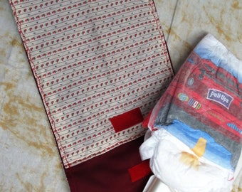 baby wipes bag, baby accessory, diaper clutch, baby diaper bag, bag organizer, baby and child care, small diaper bag, kids, red rosebuds