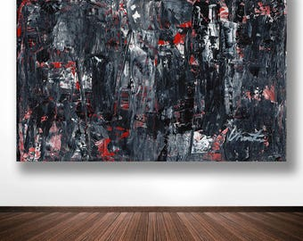 "Abstract Painting. ""Hendricks"""