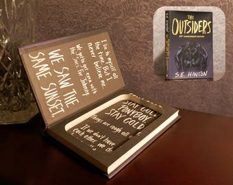 Hollow Book Safe (The Outsiders)