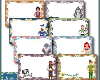 Digital Disney Autograph Pages - Build Your Own Encyclopedia