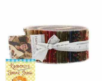 Jelly Roll/Harvest Hill/Kansas Troubles/Moda Precut/Quilting/Moda Jelly Roll/Fabric/strips/fabric strips/quilting fabric