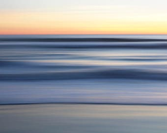 Large Wall Art, Limited Edition Fine Art Print, Sunset, Abstract Photography, Beach Art, Fine Art Photography, Fine Art Print, Avalon