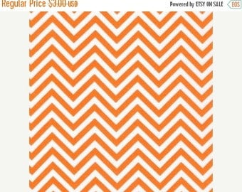 last call Remix colors by Ann Kelle and Robert Kaufman, Zig Zag/Chevron in Tangerine 1/2 yd total