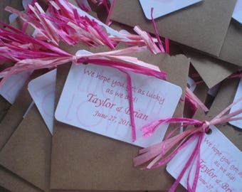 Kraft Paper  Cutest Envelopes for Wedding  (for Swankies, Lottery Ticket Favors, you name it)
