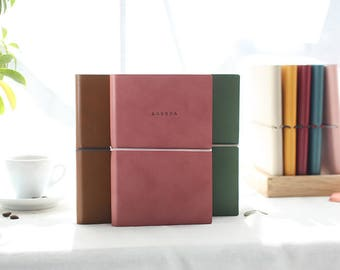 2018 Dated Monthly + Weekly planner in 3 colors (printed 'AGENDA' on the cover) -Dated planner