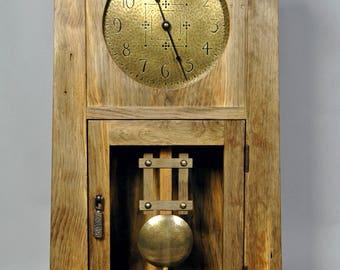 Rustic Arts & Crafts Clock