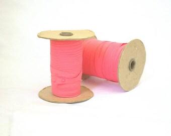 Pink Bias Tape Cotton 2 Rolls Vintage