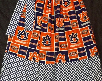 Custom Boutique handmade Auburn University Pillowcase Dress Tigers