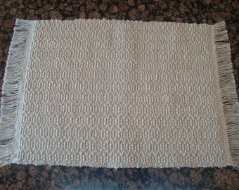 Handwoven Placemats - Wheat