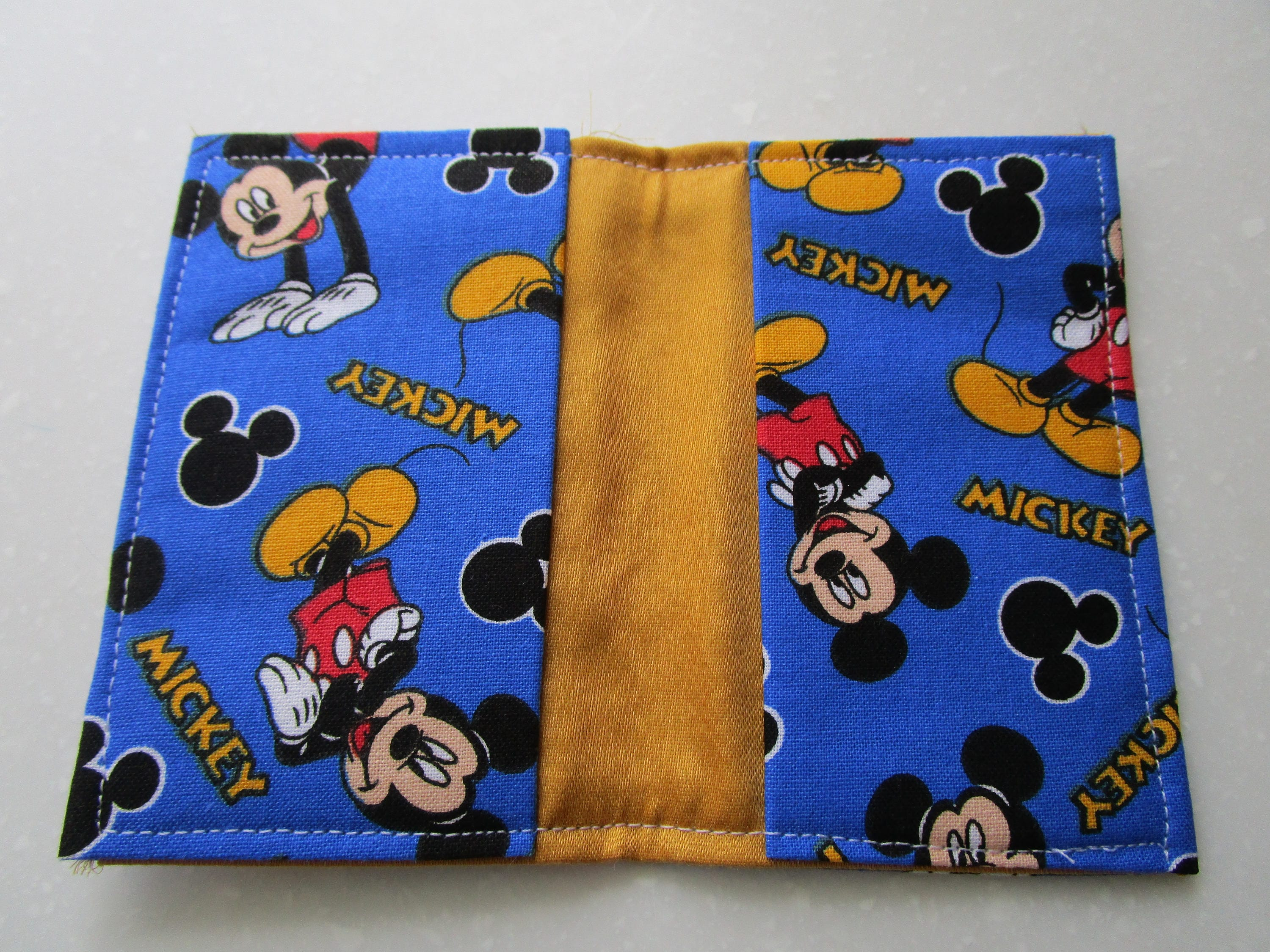 mickey mouse wallet disney pass holder credit card wallet