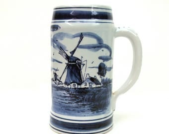 Star Trek Delft Beer Stein - Altered Vintage Mug
