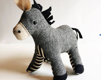Darling Donkey - Plush Donkey - Made to Order